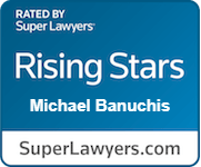 Michael Banuchis Super Lawyers Badge